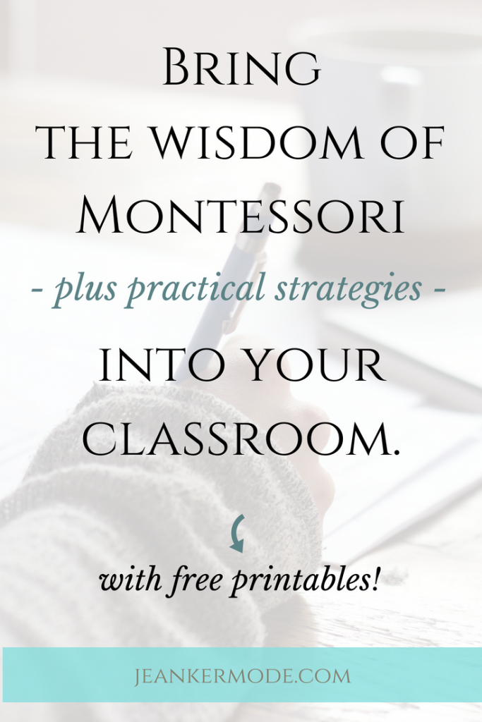 Pre-K and Kindergarten teachers! Learn how to implement amazing Montessori principles in your classroom. I offer authentic and accessible Montessori advice for teachers and parents. | montessori consulting | #montessori