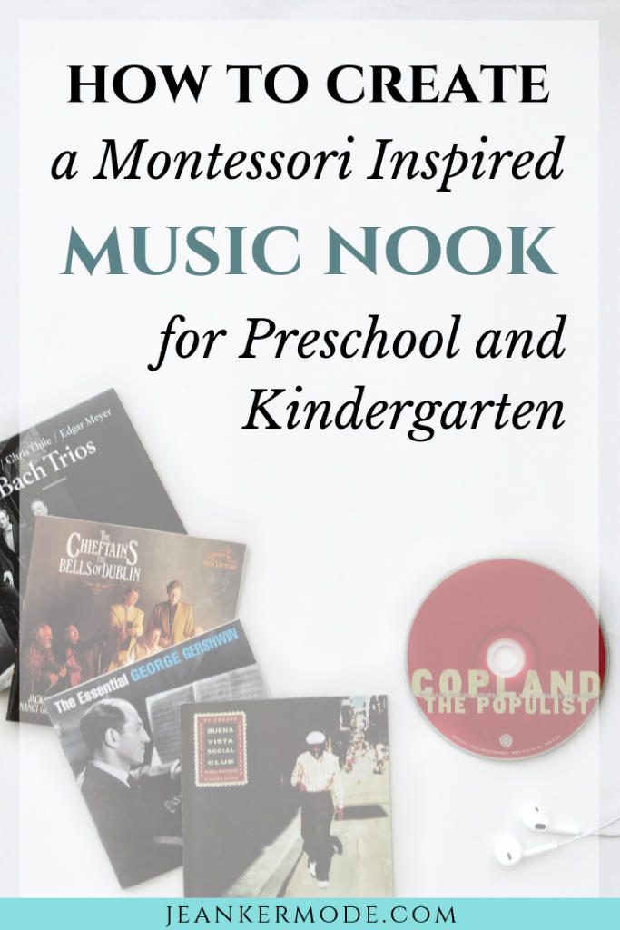 an image of several classical and folk ads, with text that says: how to create a montessori inspired music nook for preschool and kindergarten